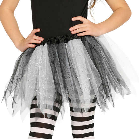 "tanzmuster Kinder Ballett Tuturock /""Pia/"" lila Tutu Rock Ballettrock Röckchen"
