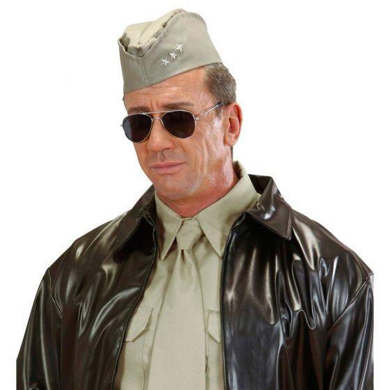 Star Wars imperial Offizier Uniform Mütze Hut Schwarz Karneval Fasching Party