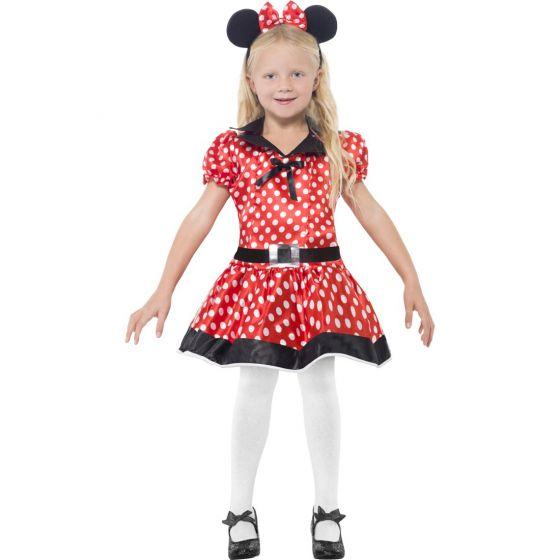 Mädchen Maus Kinderkostüm Mäuschen Kostüm Mauskostüm Haarreifen mit