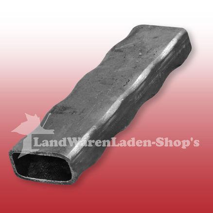 200 cm Quadratrohr 80 x 80 x 3 mm  Stahlrohr Stahlpfosten Zaunpfosten Eisenrohr