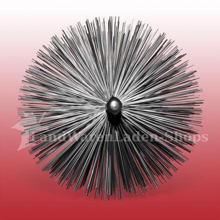 130 mm Heizkesselbürste Kesselbürste Ofenrohrbürste Kaminbesen