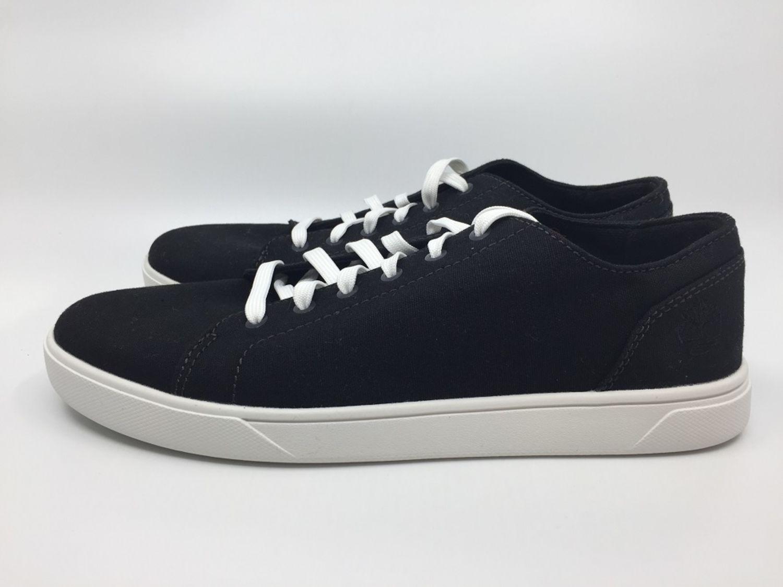 Details zu Timberland Bayham LTT Canvas A1QNW Gr. 40 Herren Sneaker schwarz weiß