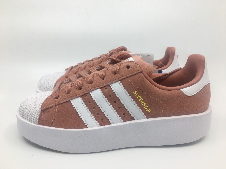 e485ef2f420264 Adidas W Superstar Bold CQ2827 Gr.36 37 38 39 40 41 Damen Sneaker pink weiß  rosa