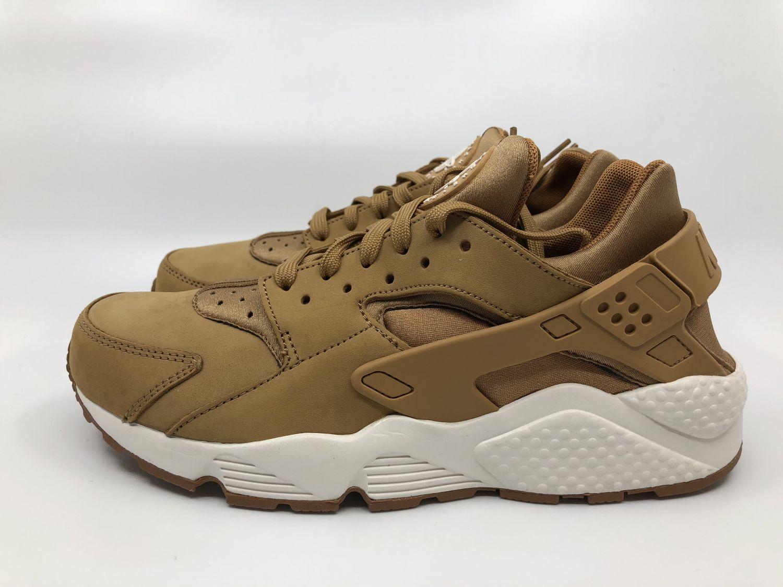 huge discount 8615f 79c0a Nike Air Huarache Gr.41 42 43 44 Herren Sneaker flax sail gum braun 318429  202