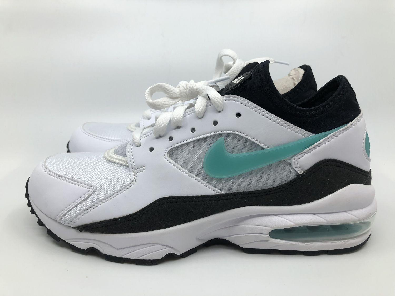 Nike WMNS Air Max 93 Gr. 40,5 Damen Sneaker weiß türkis