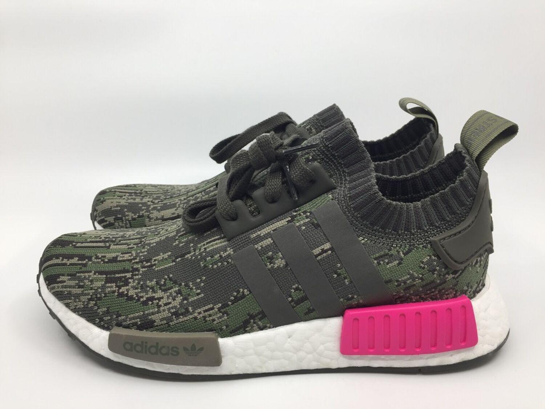 Details zu Adidas NMD R1 PK BZ0222 Herren Sneaker grün pink utility grey