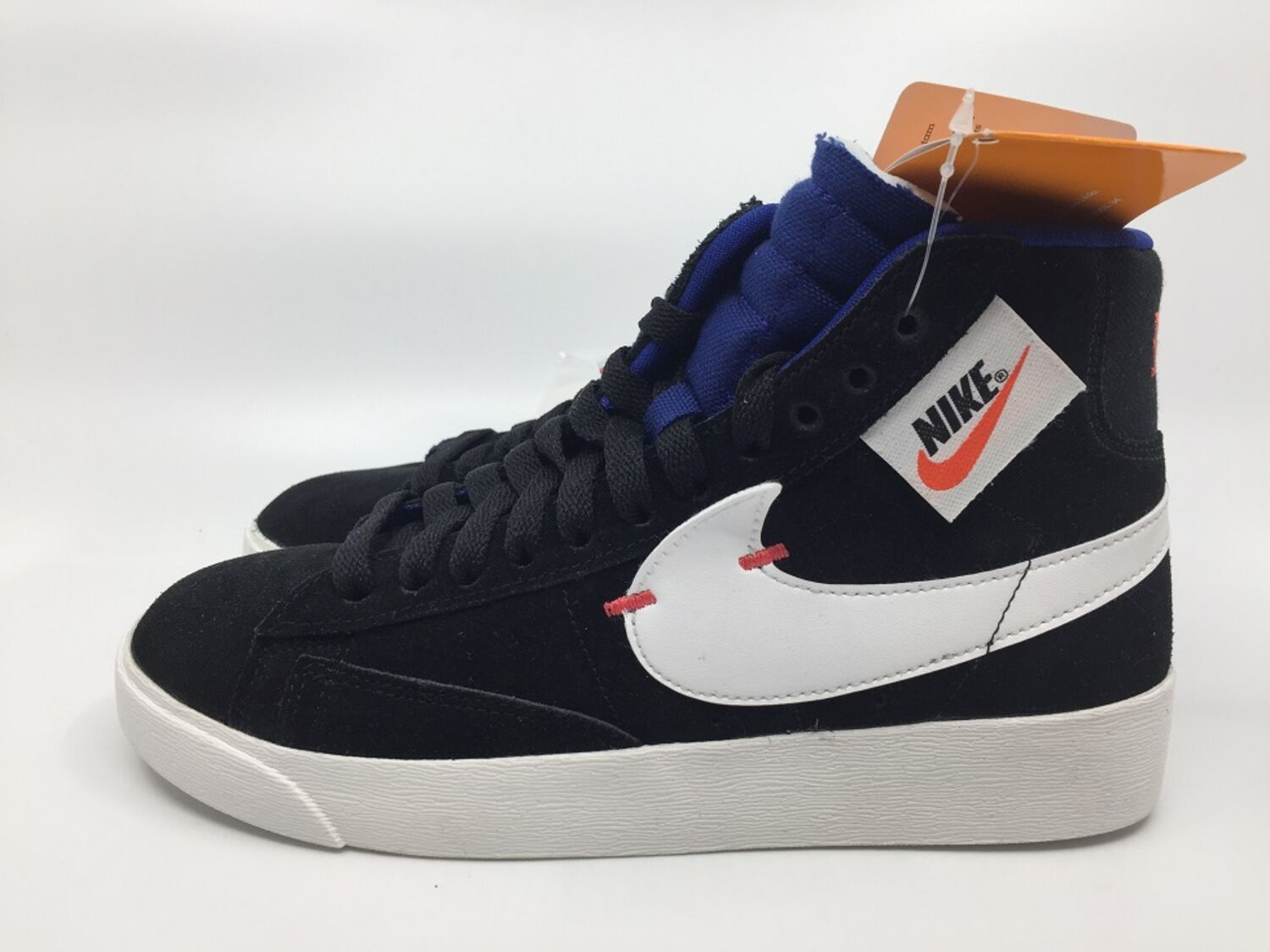 Details zu Nike Blazer Mid Rebel BQ4022 005 Sneaker Damen black summit white