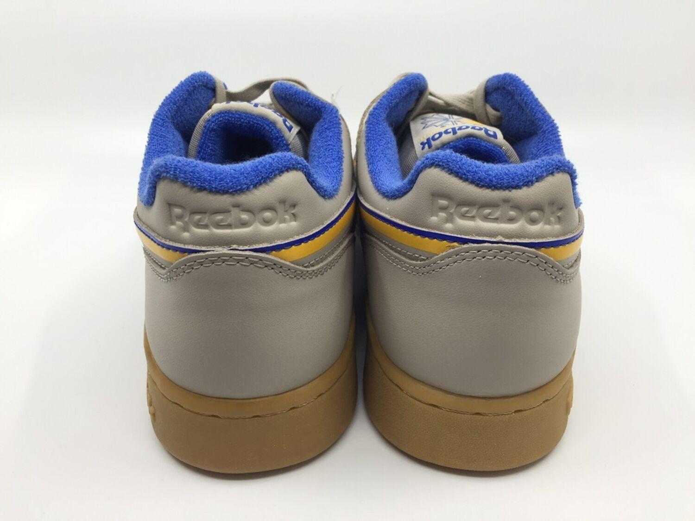 Details zu Reebok Workout Plus MU DV4298 Sneaker Herren light sand cobalt gold