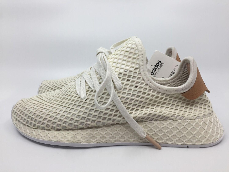 87c8561ad Adidas Deerupt Runner B41759 Herren Sneaker cloud white ash pearl beige