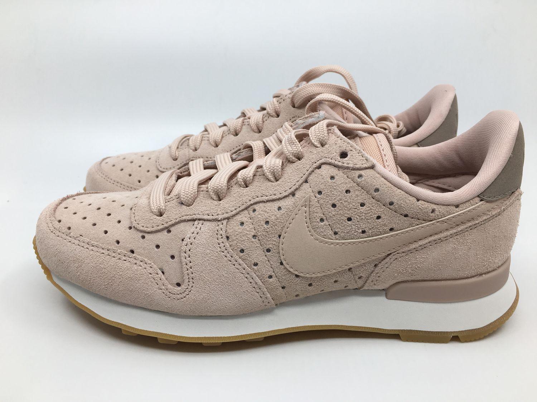 Details zu Nike Internationalist PRM Gr.36 37 38 39 40 41 42 Damen Sneaker beige 828404 204