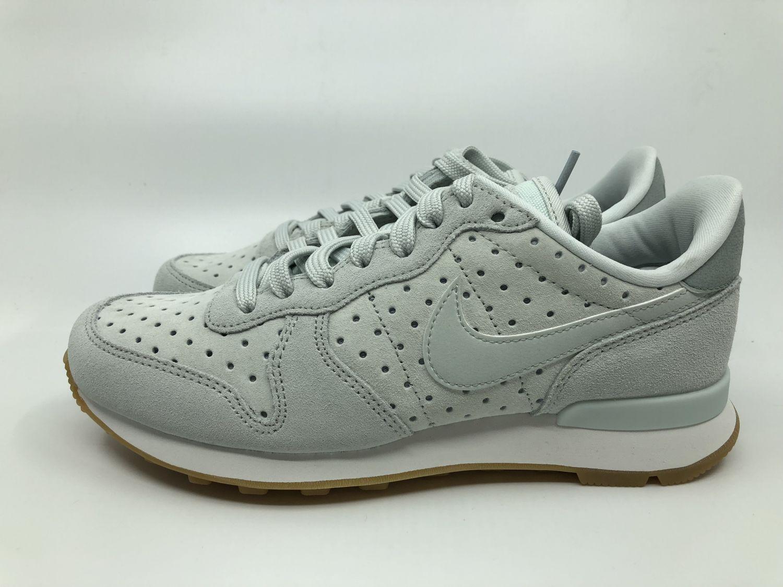 Nike Internationalist PRM Damen Sneaker grau weiß 828404 014