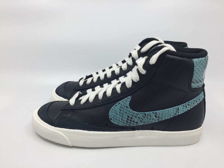 Details zu Nike Blazer Mid ´77 Vintage WE Reptile CI1176 001 black light aqua sail Sneaker
