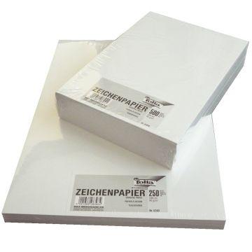 Zeichenpapier Din A4 500 Blatt | 90g/m² - Malpapier Schmierpapier ...