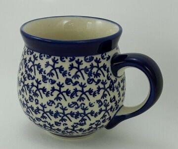 Blumen K090-MC15 Becher 0,3 Liter, Bunzlauer Keramik Tasse BÖHMISCH