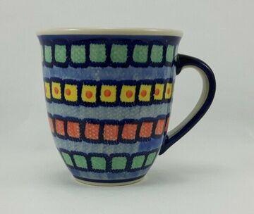 Bunzlauer Keramik Tasse MARS Maxi bunt U N I K A T K106-MKOB 0,43 Liter,