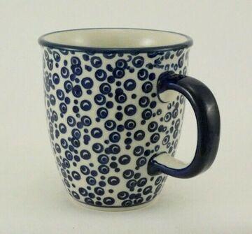 K081-CHDK Tannenbäume blau//weiß Bunzlauer Keramik Tasse MARS 0,3 Liter