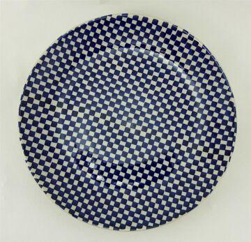 ø 22cm Frühstück T134-70A Essteller Kuchenteller Bunzlauer Keramik Teller