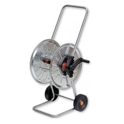 60m Metal Hose Cart Hose Reel Tube Holder Hose Reel 1 2