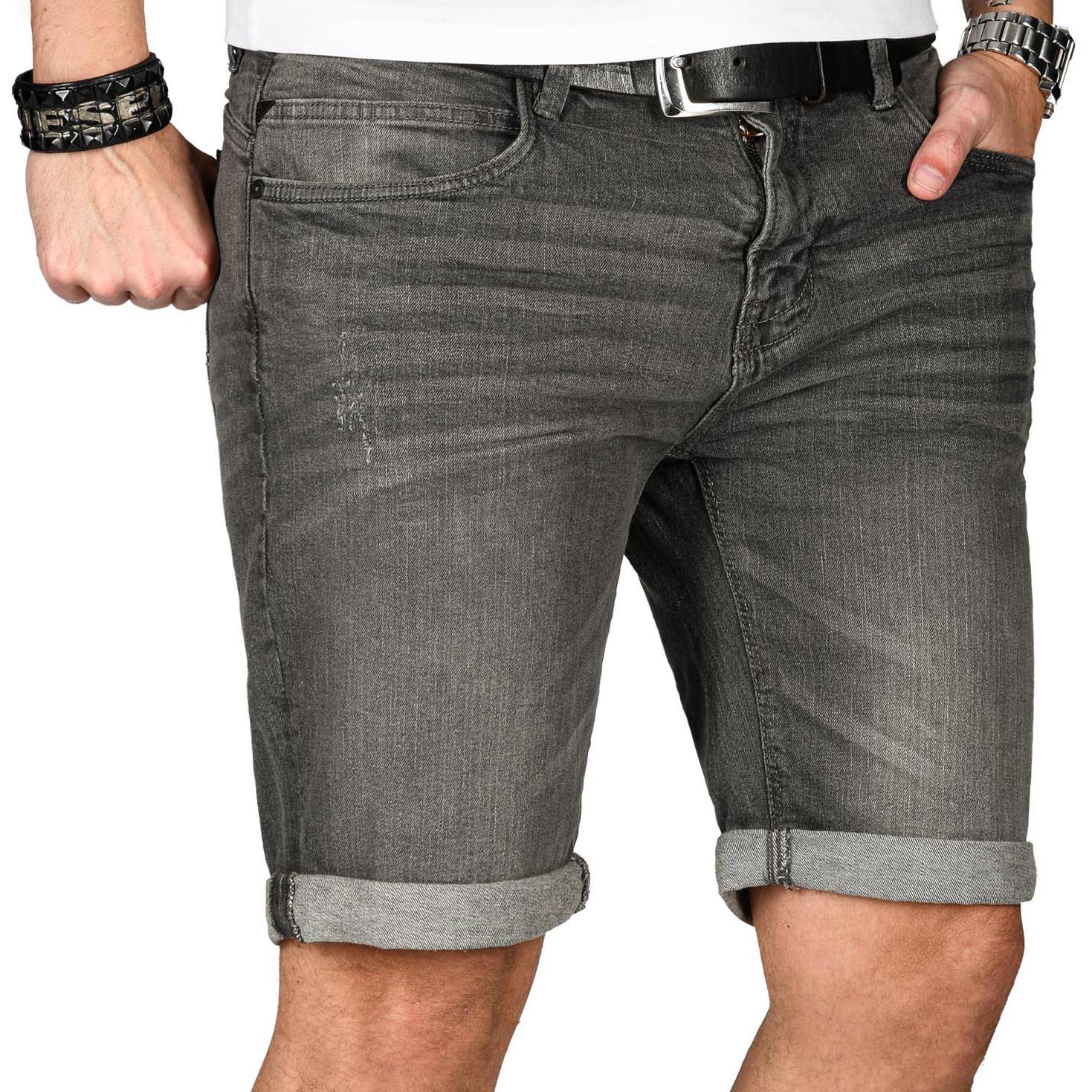 Indicode-Herren-Sommer-Bermuda-Jeans-Shorts-kurze-Hose-Sommerhose-Short-Neu-B556 Indexbild 25