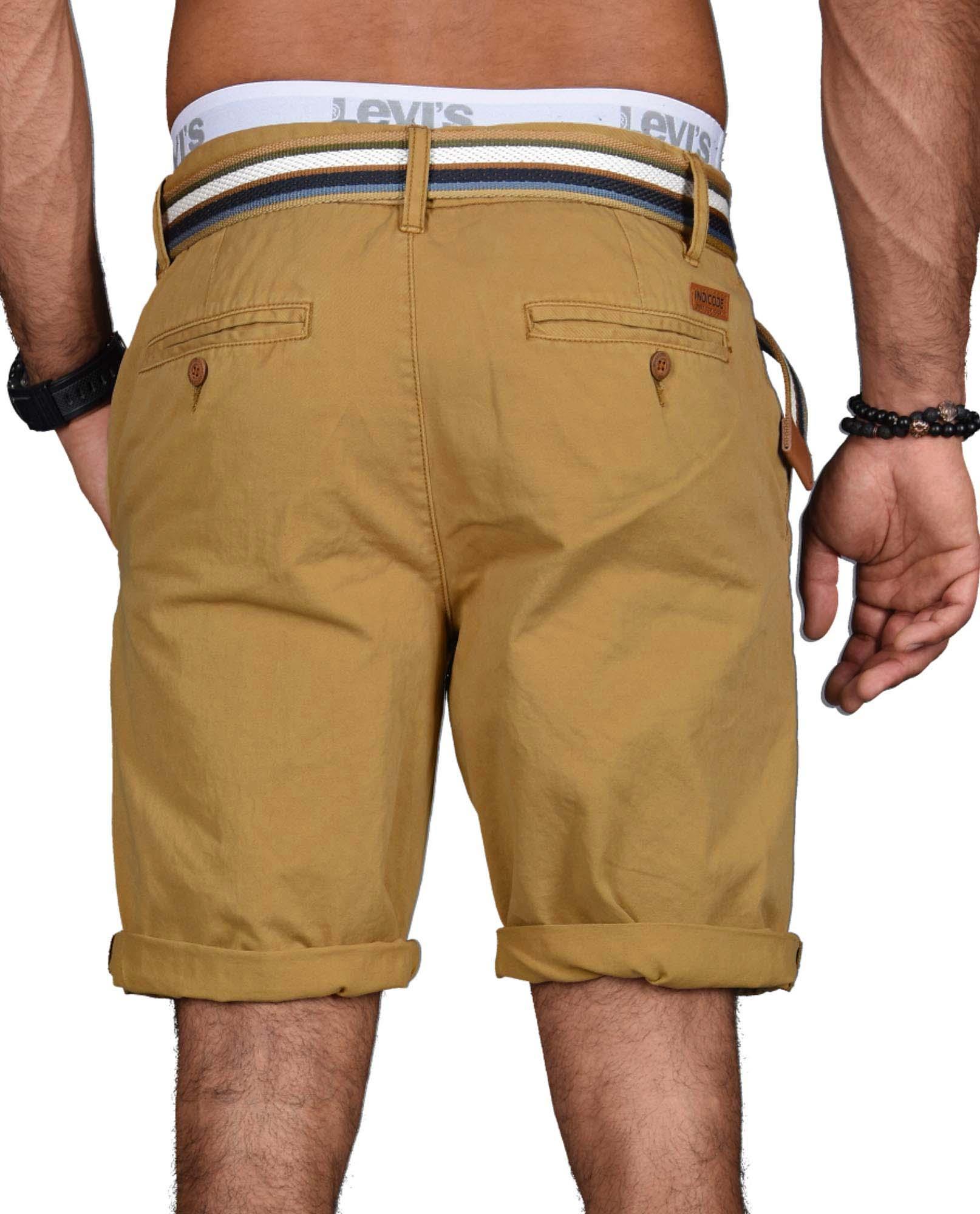 Indicode-Herren-Sommer-Bermuda-Chino-Shorts-kurze-Hose-Sommerhose-Short-NEU-B499 Indexbild 9