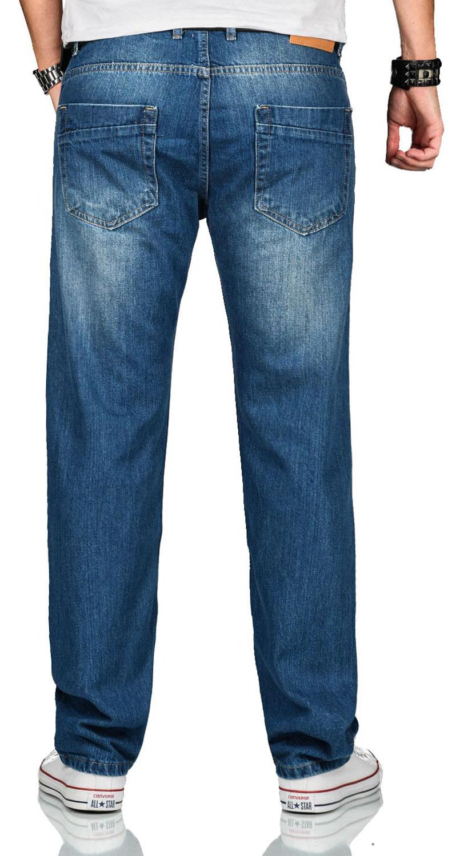 A-Salvarini-Beppo-Designer-Herren-Jeans-Hose-Basic-Jeanshose-Comfort-Fit Indexbild 6