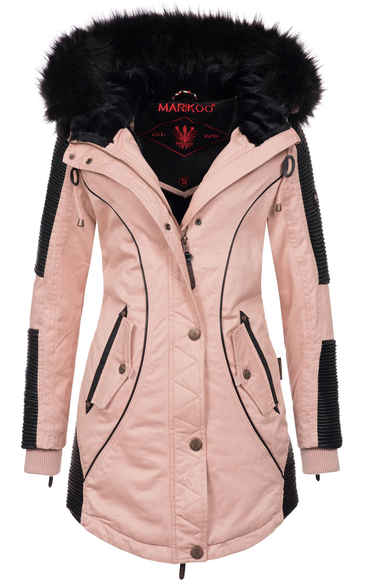 Marikoo Larissa Designer Damen Winter Parka warme ...