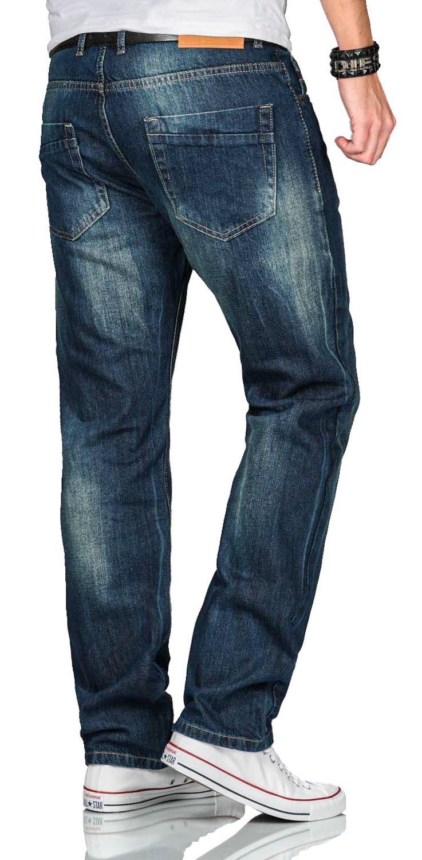 A-Salvarini-Beppo-Designer-Herren-Jeans-Hose-Basic-Jeanshose-Comfort-Fit Indexbild 13