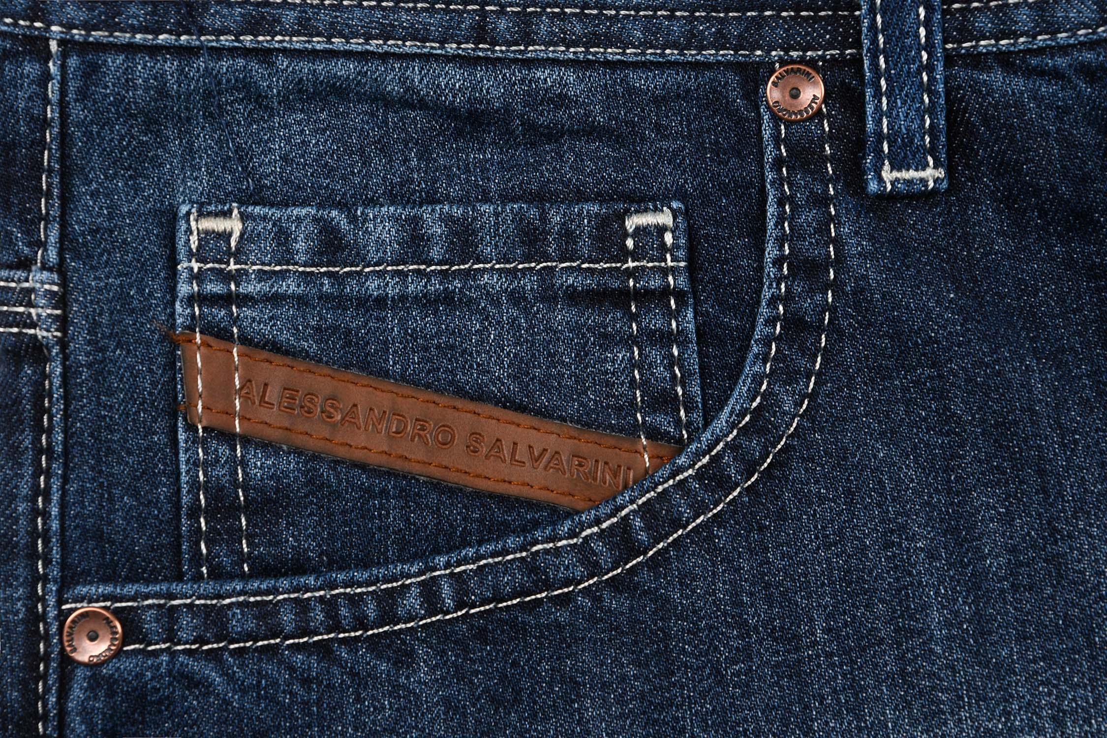 A-Salvarini-Designer-Herren-Jeans-Short-kurze-Sommer-Hose-Jeansshorts-Bermuda Indexbild 22