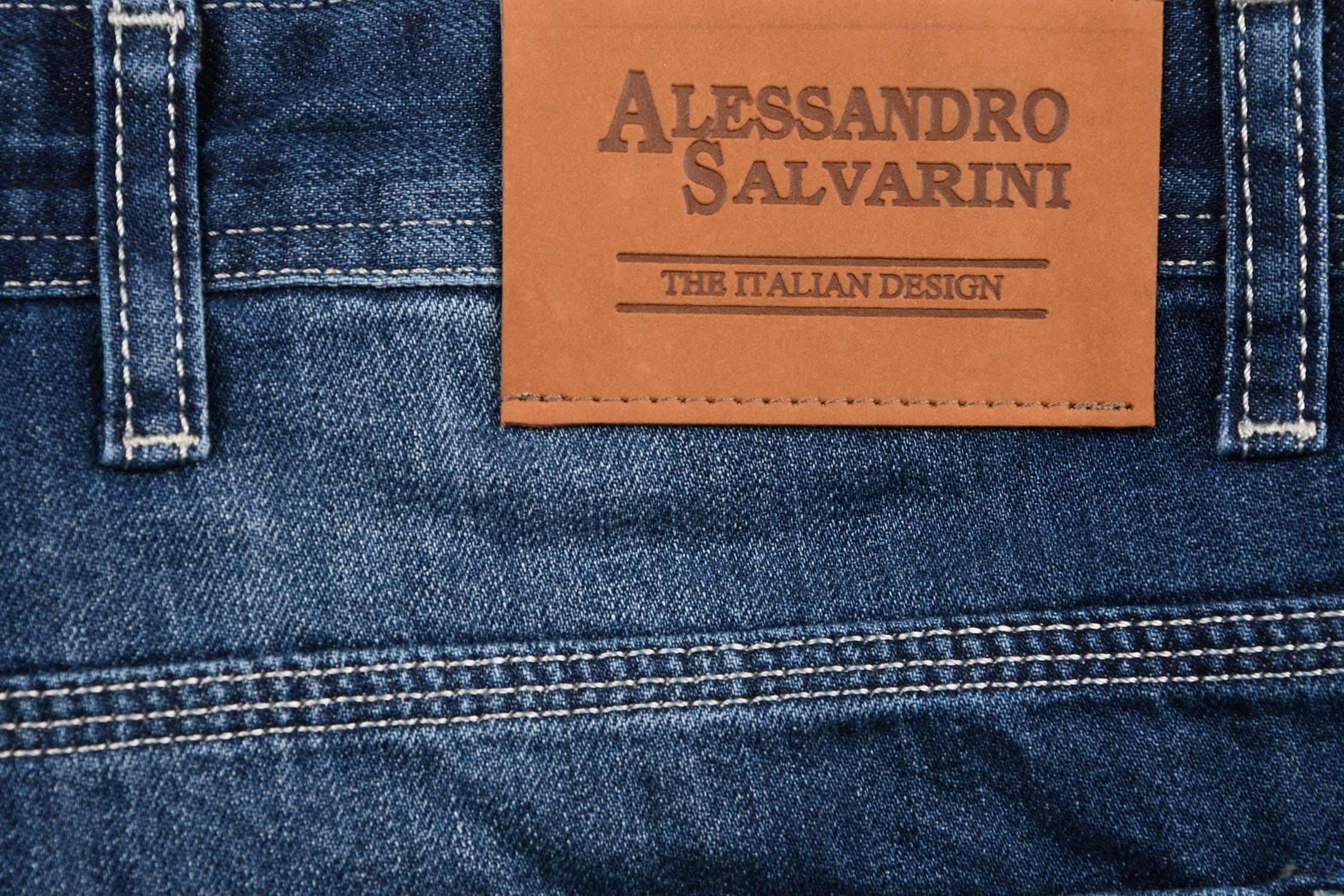 A-Salvarini-Designer-Herren-Jeans-Short-kurze-Sommer-Hose-Jeansshorts-Bermuda Indexbild 16