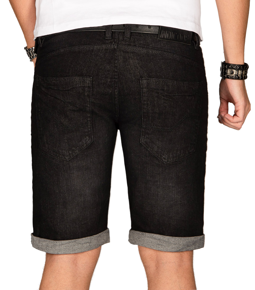 Indicode-Herren-Sommer-Bermuda-Jeans-Shorts-kurze-Hose-Sommerhose-Short-Neu-B556 Indexbild 5