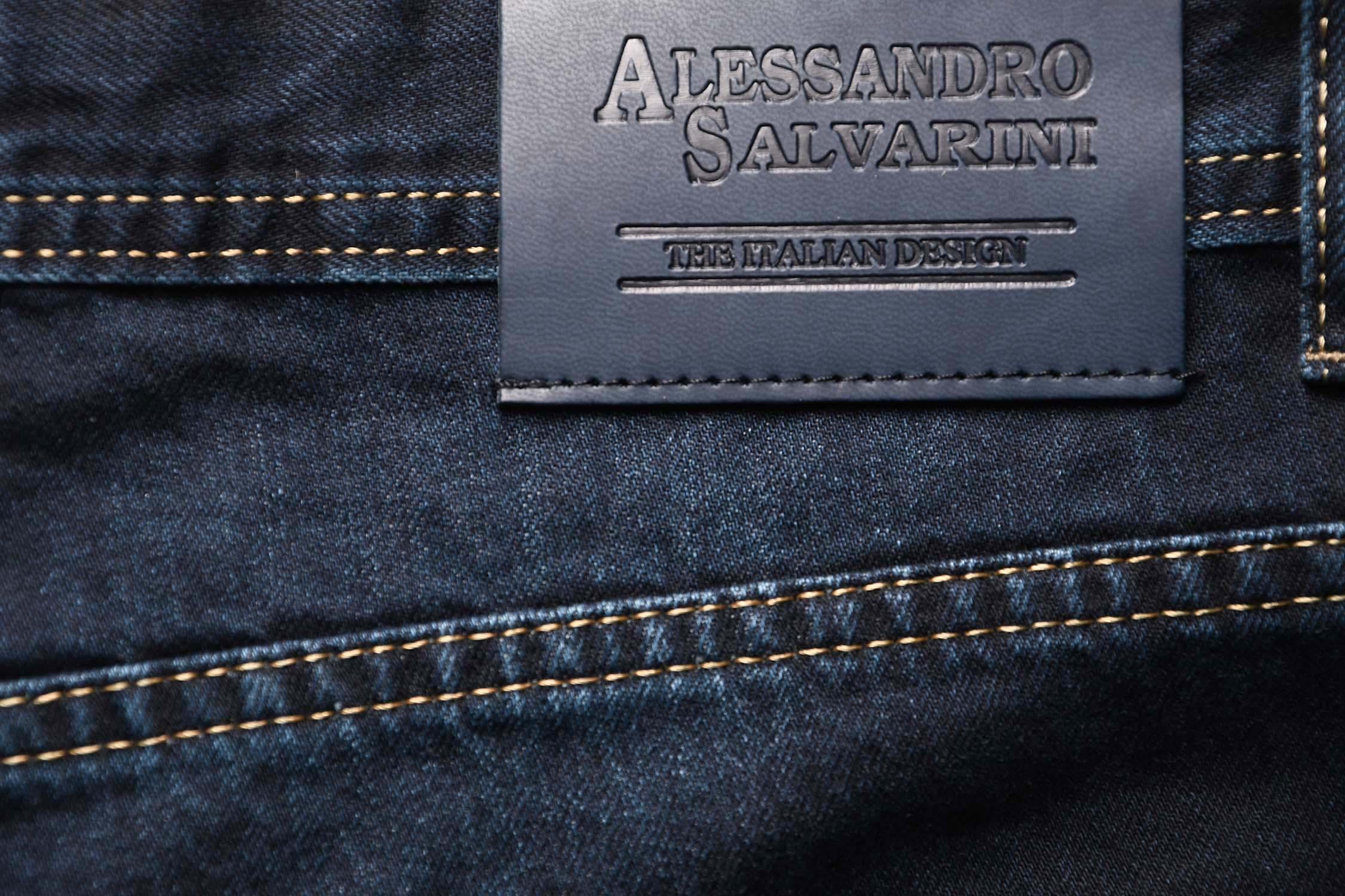 A-Salvarini-Beppo-Designer-Herren-Jeans-Hose-Basic-Jeanshose-Comfort-Fit Indexbild 25