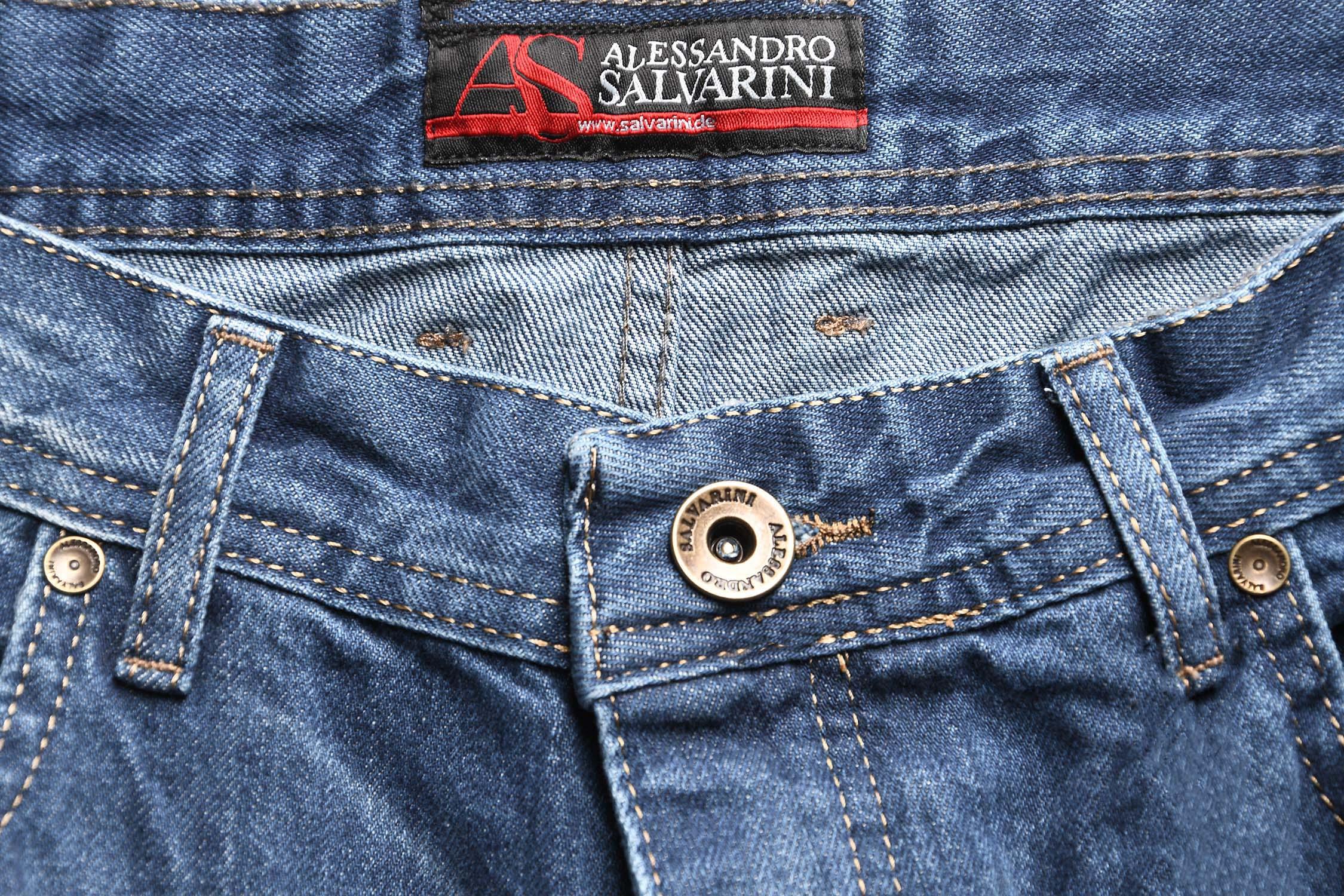 A-Salvarini-Beppo-Designer-Herren-Jeans-Hose-Basic-Jeanshose-Comfort-Fit Indexbild 8