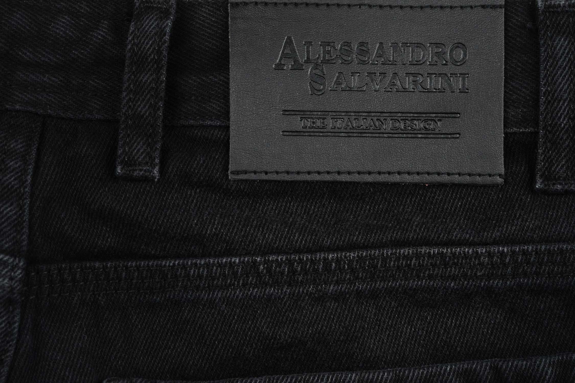 A-Salvarini-Designer-Herren-Jeans-Short-kurze-Sommer-Hose-Jeansshorts-Bermuda Indexbild 32