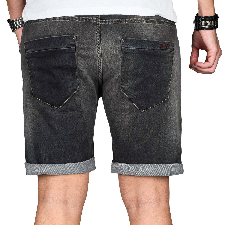 A-Salvarini-Herren-Jeans-Short-kurze-Hose-Sommer-Shorts-Bermuda-Comfort-fit-NEU Indexbild 33