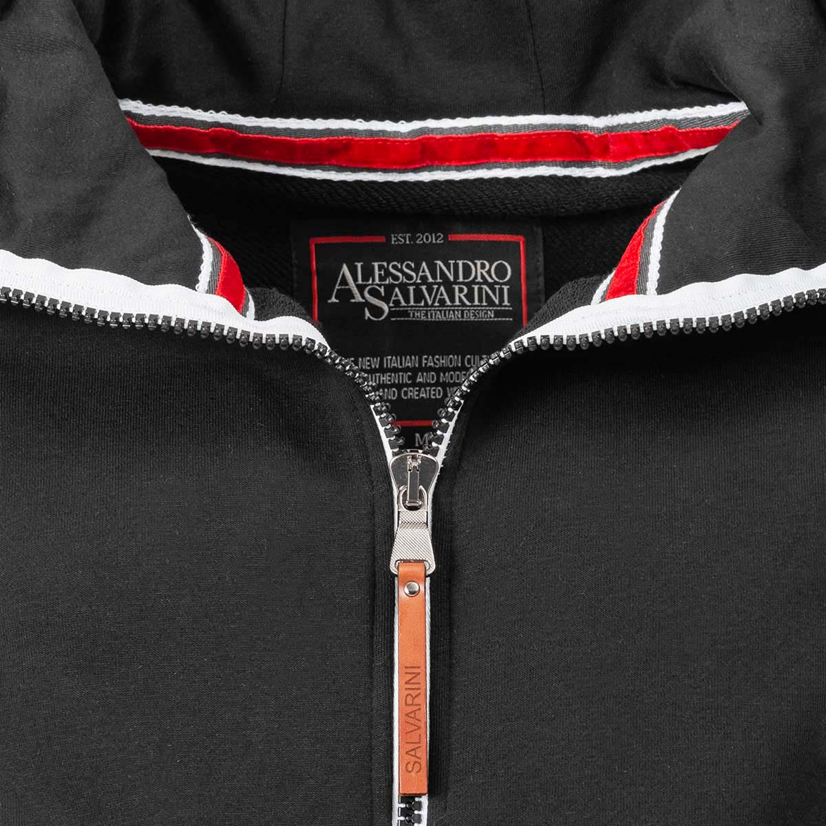 A-Salvarini-Herren-Sweatjacke-Kapuzenpullover-Jacke-Kapuze-Hoodie-Sweater-AS192 Indexbild 46