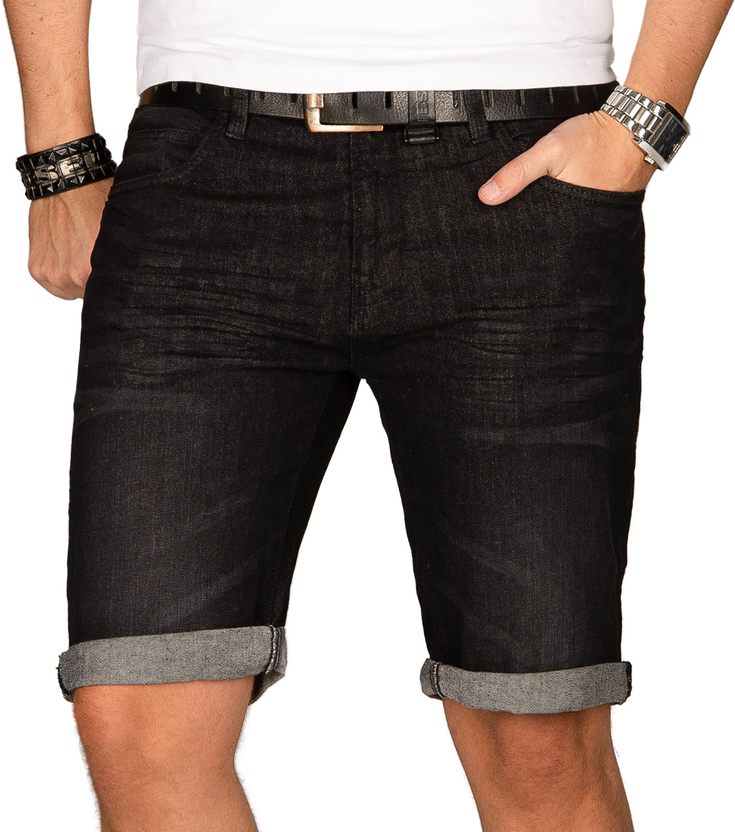 Indicode-Herren-Sommer-Bermuda-Jeans-Shorts-kurze-Hose-Sommerhose-Short-Neu-B556 Indexbild 3