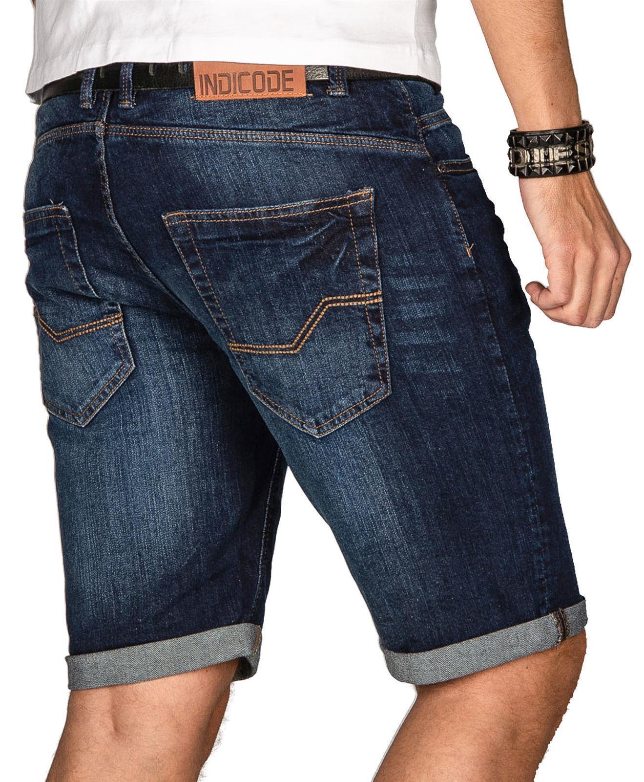 Indicode-Herren-Sommer-Bermuda-Jeans-Shorts-kurze-Hose-Sommerhose-Short-Neu-B556 Indexbild 34