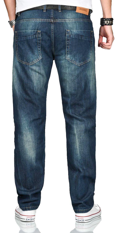A-Salvarini-Beppo-Designer-Herren-Jeans-Hose-Basic-Jeanshose-Comfort-Fit Indexbild 14