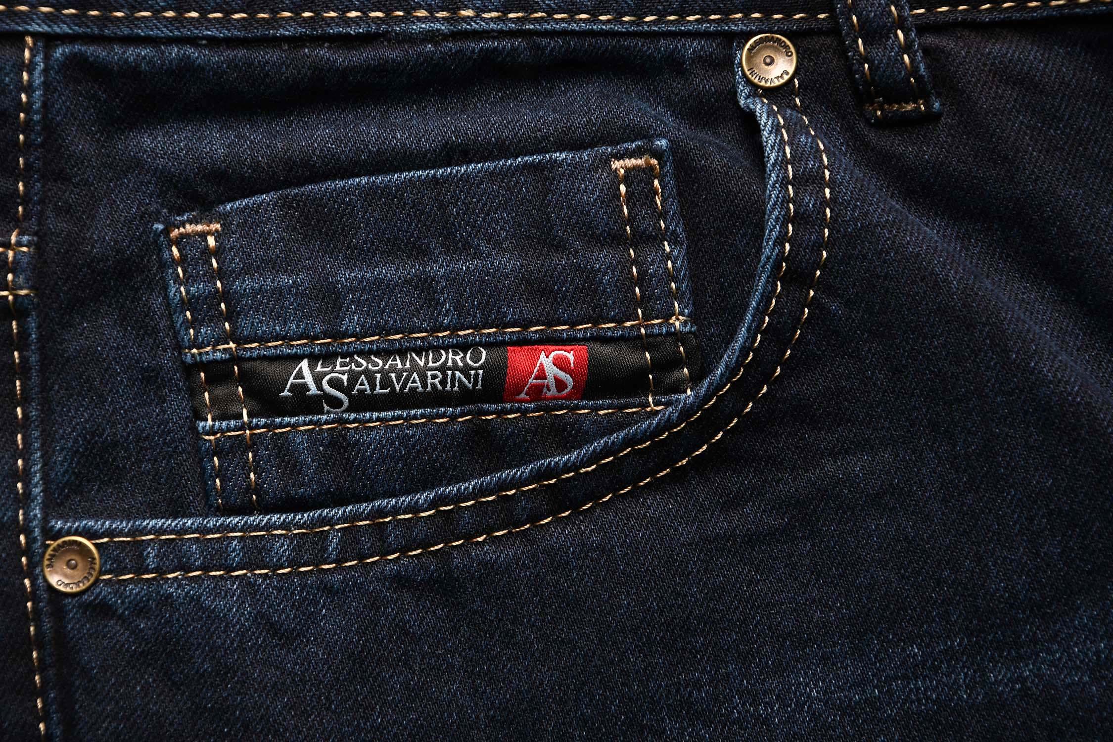 A-Salvarini-Beppo-Designer-Herren-Jeans-Hose-Basic-Jeanshose-Comfort-Fit Indexbild 23