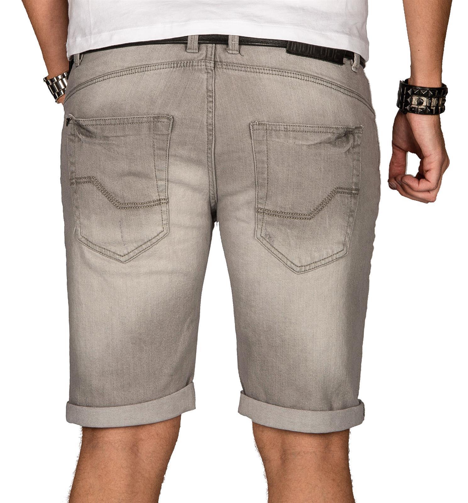 Indicode-Herren-Sommer-Bermuda-Jeans-Shorts-kurze-Hose-Sommerhose-Short-Neu-B556 Indexbild 21