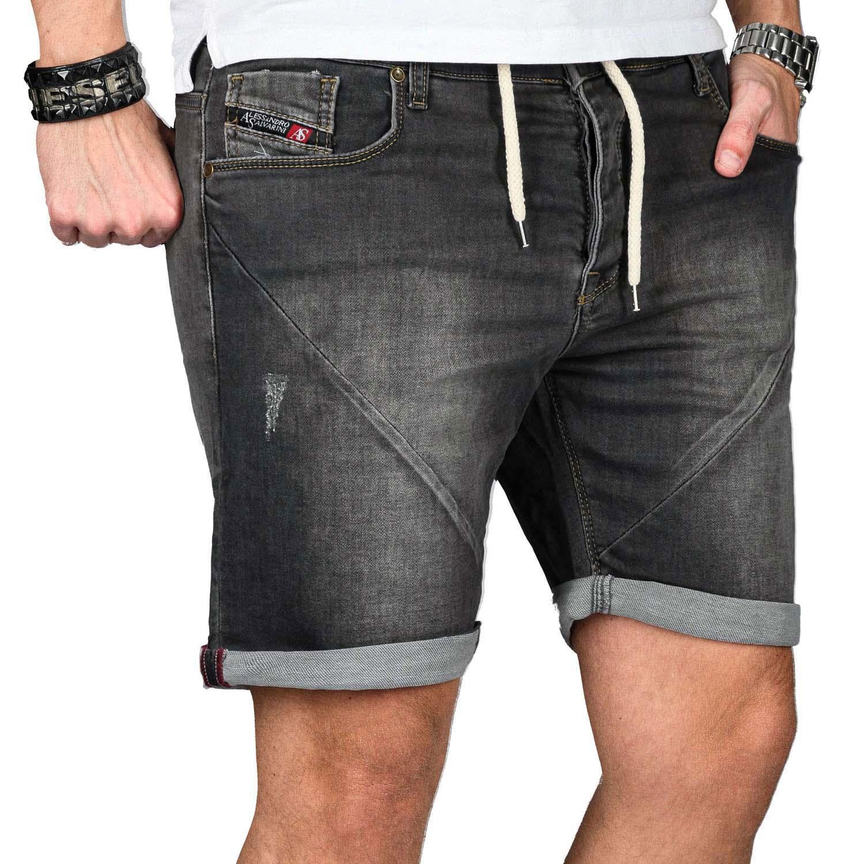 A-Salvarini-Herren-Jeans-Short-kurze-Hose-Sommer-Shorts-Bermuda-Comfort-fit-NEU Indexbild 31