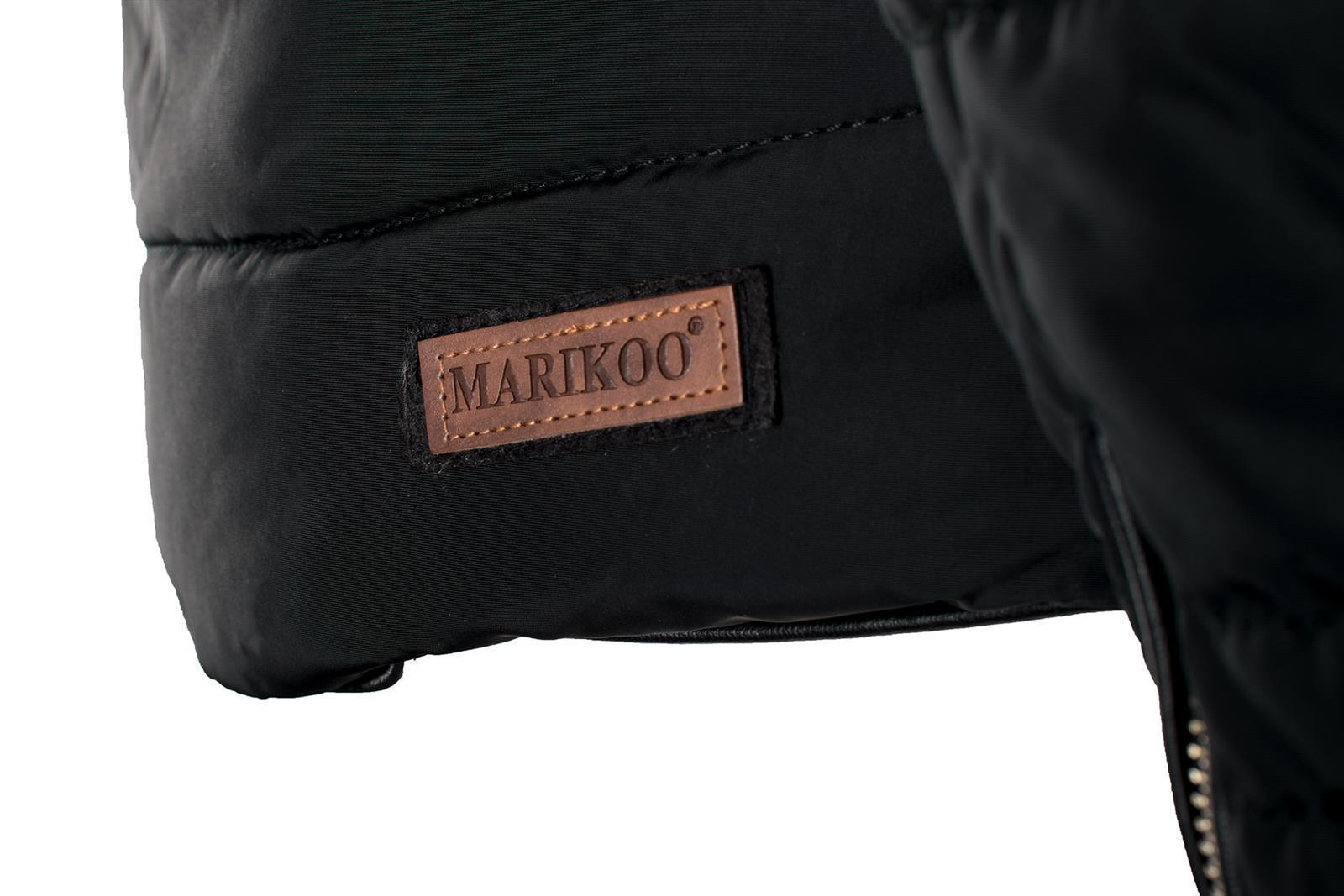 Marikoo Amber Winter Jacke Damen Steppjacke warm Teddyfell gefüttert B354 NEU