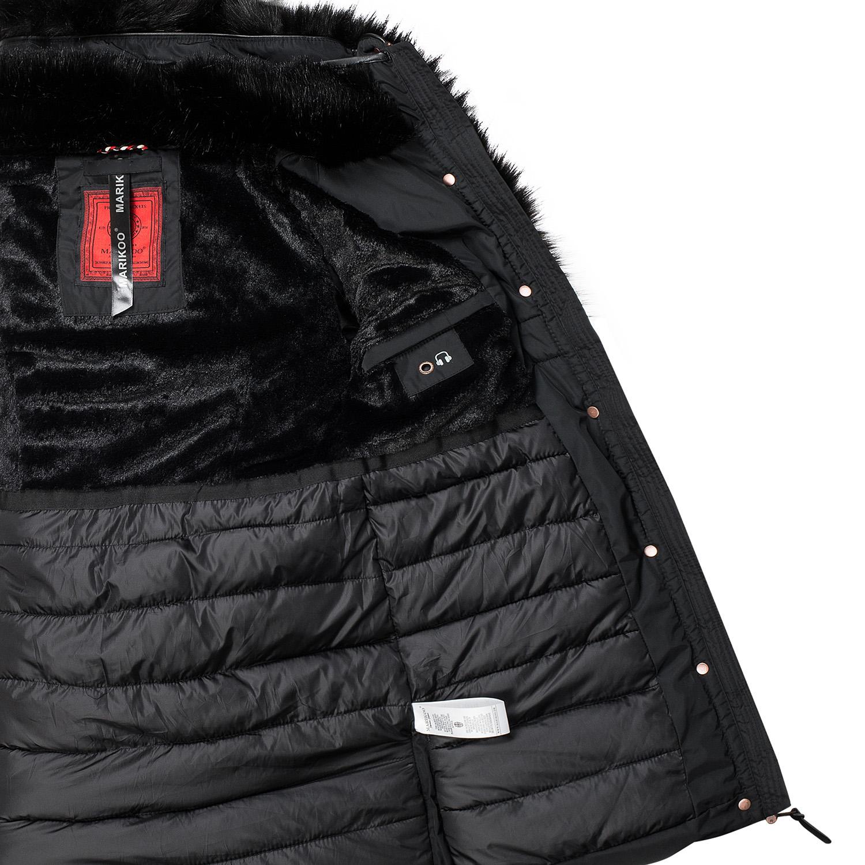 Details zu Marikoo Damen Winter Jacke warme Winterjacke Stepp Mantel Parka Turnam B402