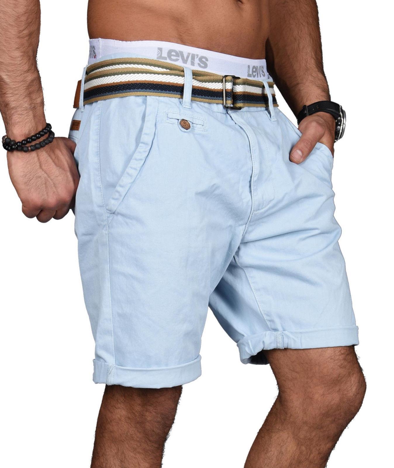 Indicode-Herren-Sommer-Bermuda-Chino-Shorts-kurze-Hose-Sommerhose-Short-NEU-B499 Indexbild 11