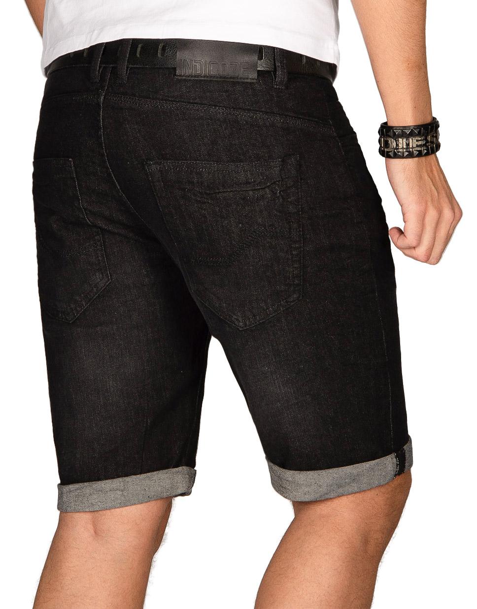 Indicode-Herren-Sommer-Bermuda-Jeans-Shorts-kurze-Hose-Sommerhose-Short-Neu-B556 Indexbild 4
