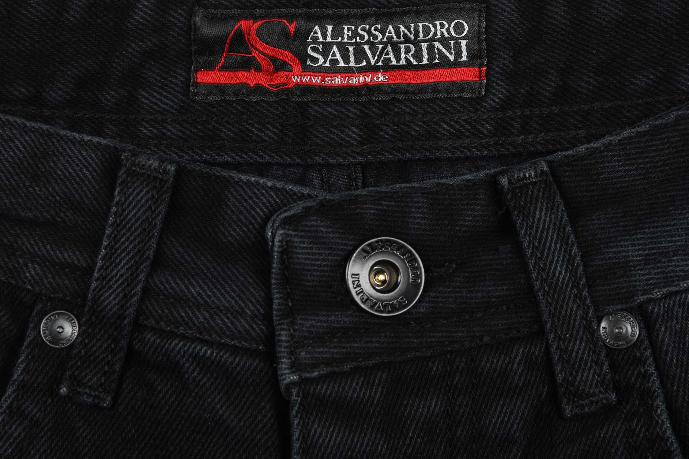 A-Salvarini-Designer-Herren-Jeans-Short-kurze-Sommer-Hose-Jeansshorts-Bermuda Indexbild 29