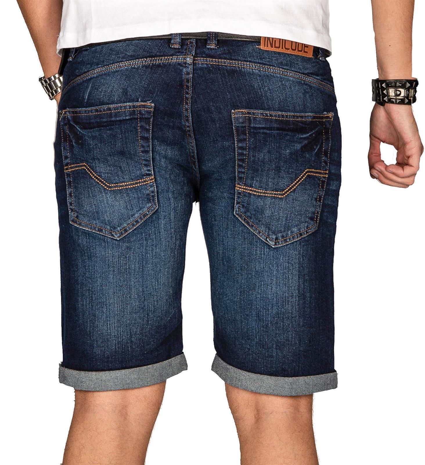 Indicode-Herren-Sommer-Bermuda-Jeans-Shorts-kurze-Hose-Sommerhose-Short-Neu-B556 Indexbild 35