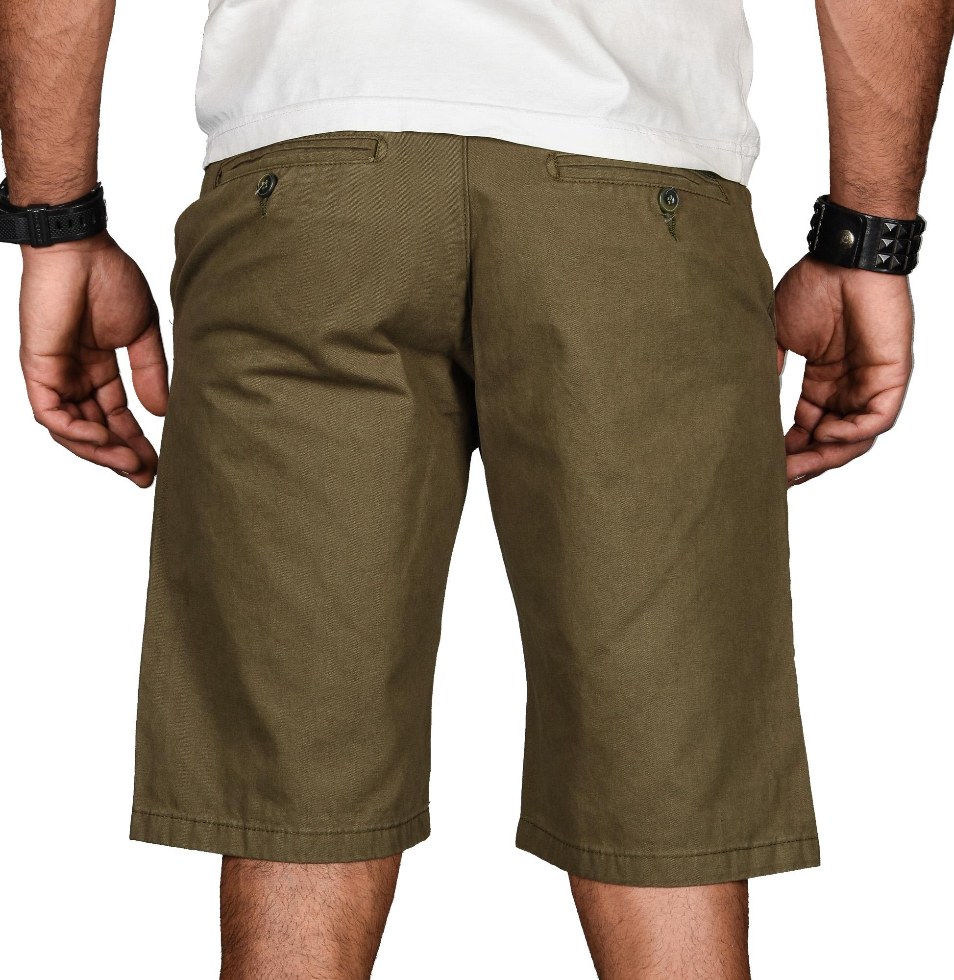 A-Salvarini-Herren-Shorts-kurze-Sommer-Hose-mit-Guertel-Short-Bermuda-NEU-AS096 Indexbild 31