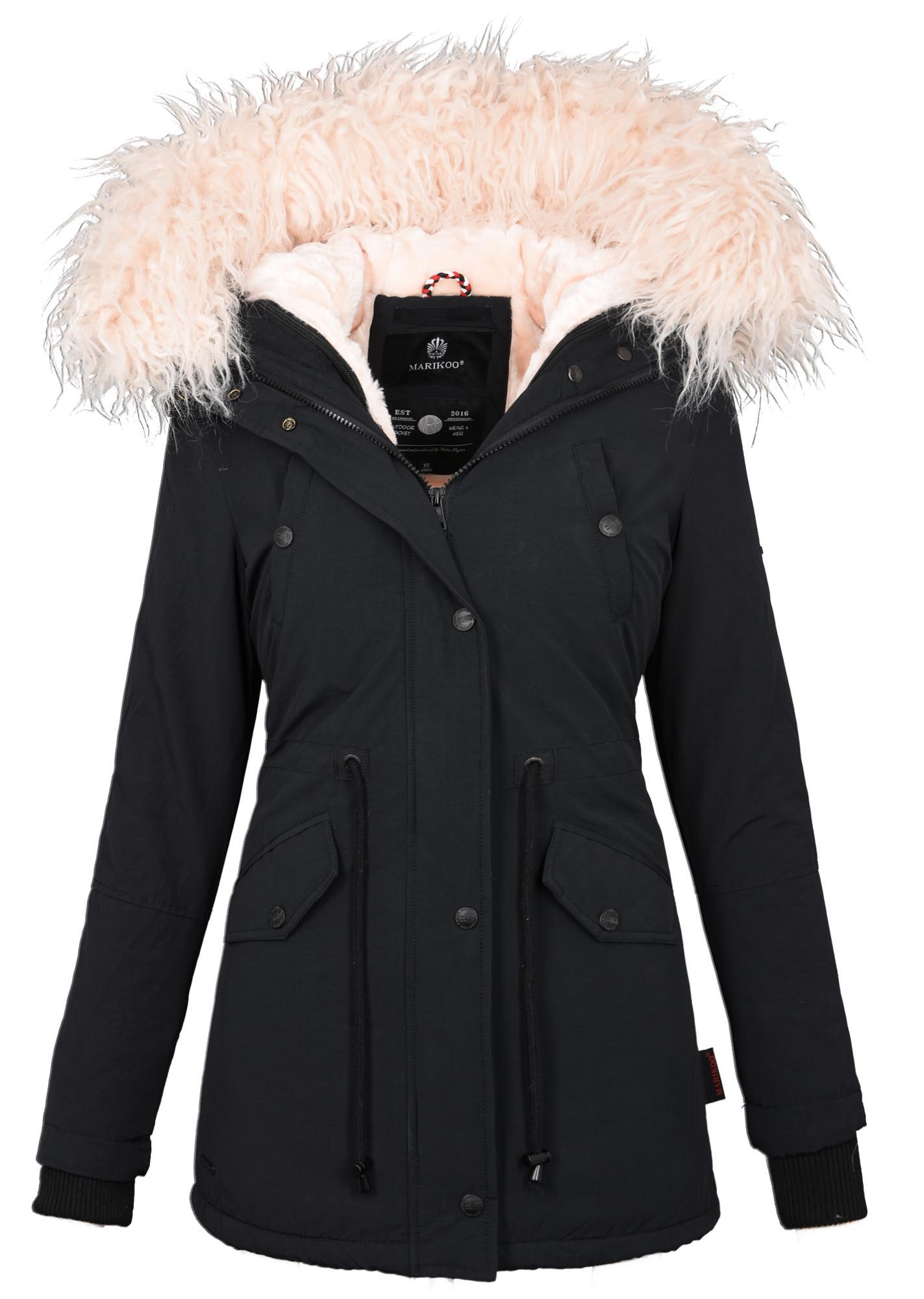 innovative design a05cf 9dc1e Winter B370 Mantel Details Marikoo Zu Winterjacke Jacke Wow ...