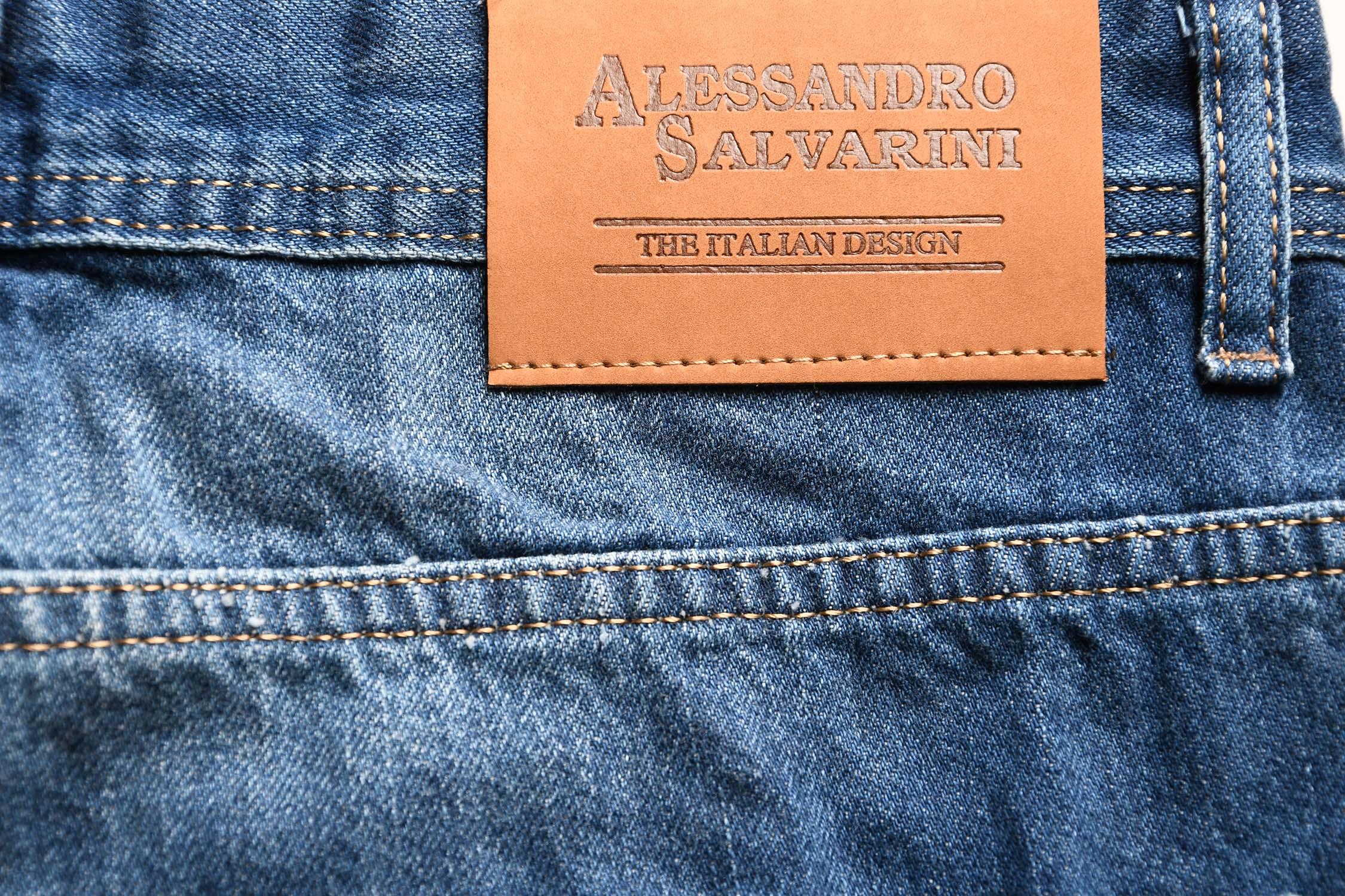 A-Salvarini-Beppo-Designer-Herren-Jeans-Hose-Basic-Jeanshose-Comfort-Fit Indexbild 9